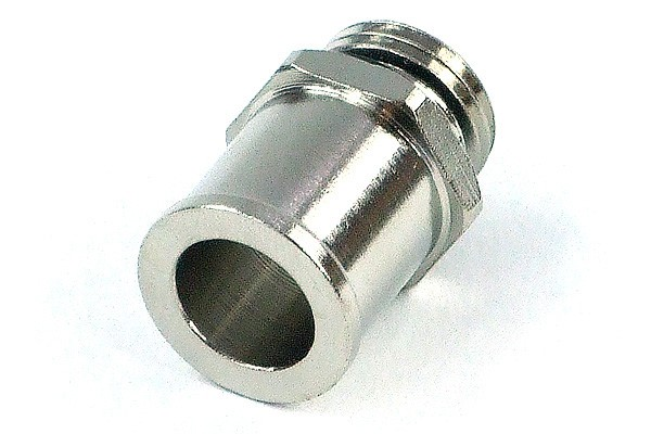 """13mm (1/2"""") barbed fitting G1/4 with O-Ring (Perfect Seal)"""
