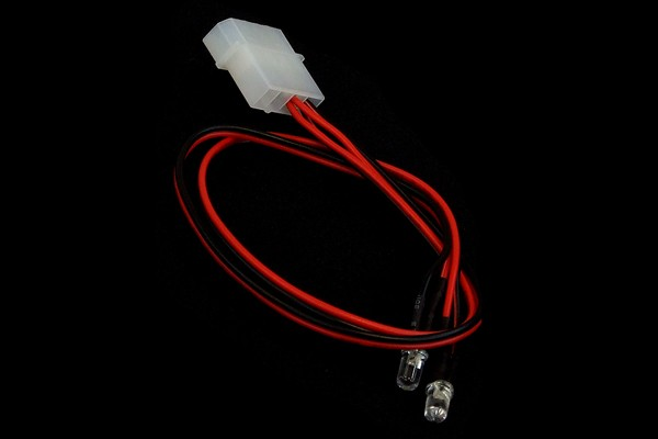 LEDready 5mm Twin ultra-bright red