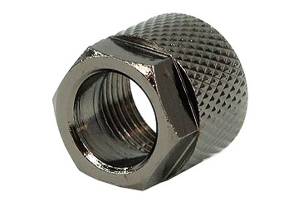 union nut 10mm type 2 - black nickel