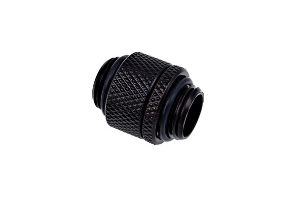 Alphacool Eiszapfen double nippel rotatable G1/4 outer thread to G1/4 outer thread - deep black
